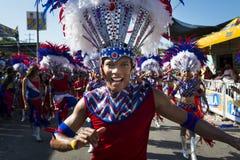 Karneval von Baranquilla, in Kolumbien Lizenzfreies Stockbild