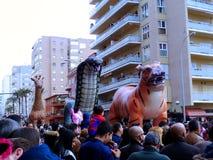 Karneval von Cadiz 2017 andalusia spanien stockfotos