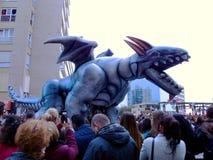 Karneval von Cadiz 2017 andalusia spanien stockfoto