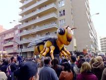 Karneval von Cadiz 2017 andalusia spanien stockbild