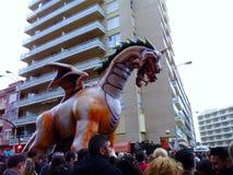 Karneval von Cadiz 2017 andalusia spanien lizenzfreie stockfotografie