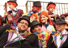 Karneval von Cadiz, Andalusien, Spanien Lizenzfreies Stockbild