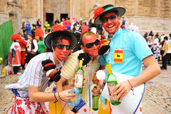 Karneval von Cadiz, Andalusien, Spanien Lizenzfreie Stockfotografie