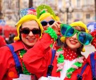 Karneval von Cadiz, Andalusien, Spanien Stockfotos