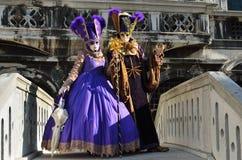 Karneval von Venedig Lizenzfreie Stockfotografie