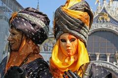 Karneval von Venedig 2009 Stockfotografie