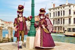 Karneval von Venedig Lizenzfreie Stockfotos
