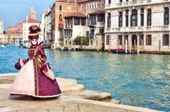 Karneval von Venedig Lizenzfreies Stockbild