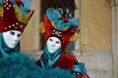 Karneval von Venedig, Italien Stockbild