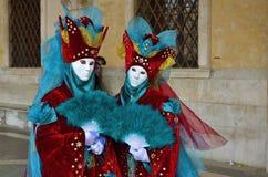 Karneval von Venedig, Italien Stockfotografie