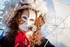 Karneval von Venedig-Masken Lizenzfreies Stockbild