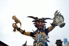 Karneval von Viareggio-Stadt Toskana Lizenzfreie Stockfotos