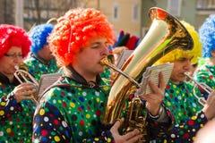 Karneval von Villach stockfoto