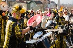 Karneval von Villach stockbild
