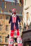 Karneval von Villach stockfotos