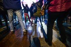 Karnevalberömmar i Vigo - 2018 Royaltyfri Fotografi