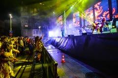 Karnevalberömmar i Vigo - 2018 Royaltyfri Foto