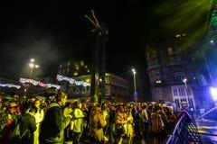 Karnevalberömmar i Vigo - 2018 Royaltyfri Bild