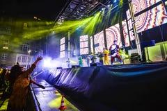Karnevalberömmar i Vigo - 2018 Royaltyfria Bilder