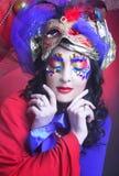 Karnevalbild Fotografering för Bildbyråer