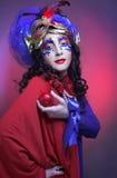Karnevalbild Royaltyfria Foton