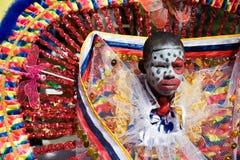 karnevalclown Royaltyfri Foto
