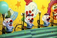 karnevalclownlek arkivbild