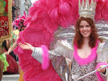 karnevalcopenhagen deltagare Arkivfoton