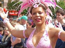 karnevalcopenhagen deltagare Royaltyfria Foton