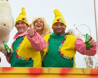 karnevalcorralejo Arkivfoton
