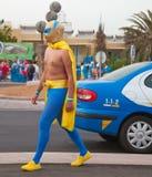 karnevalcorralejo Royaltyfri Fotografi