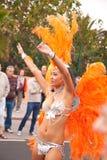 karnevalcorralejo Fotografering för Bildbyråer