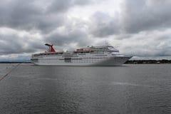 KarnevalCruse skepp Arkivfoto