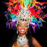 Karnevaldrottning Royaltyfri Fotografi