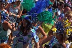 karnevaldrottningar Royaltyfri Fotografi