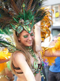 karnevalet 2011 copenhagen ståtar Royaltyfri Fotografi