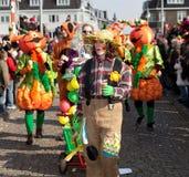 karnevalet 2011 maastricht ståtar Arkivfoto