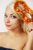 Karnevalet maskerar Royaltyfri Foto