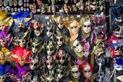 karnevalet maskerar traditionellt Arkivfoto