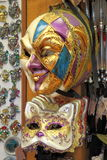karnevalet maskerar venetian Arkivbild