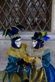 karnevalet maskerar venetian Royaltyfria Foton