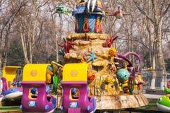 Karnevalet parkerar Arkivfoto