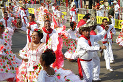 karnevalet ståtar Royaltyfri Fotografi