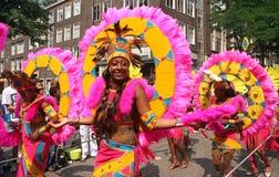 karnevalet ståtar Arkivbilder