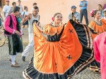 Karnevalet ståtar i Granada Arkivfoton