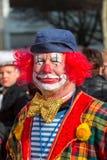 Karnevalet ståtar Nuremberg, Tyskland Arkivfoto