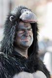 Karnevalet ståtar Nuremberg, Tyskland Arkivbild