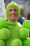 Karnevalet ståtar Nuremberg, Tyskland Arkivfoton