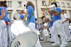 karnevalet ståtar warsaw Royaltyfri Foto