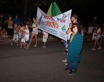Karnevalet ståtar Arkivbild